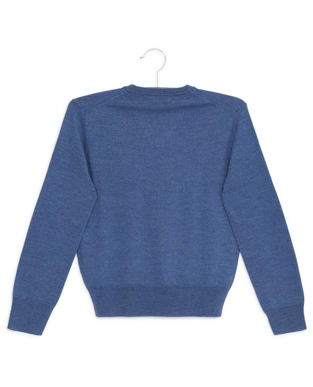 Pony embroidered V-neck wool jumper POLO RALPH LAUREN