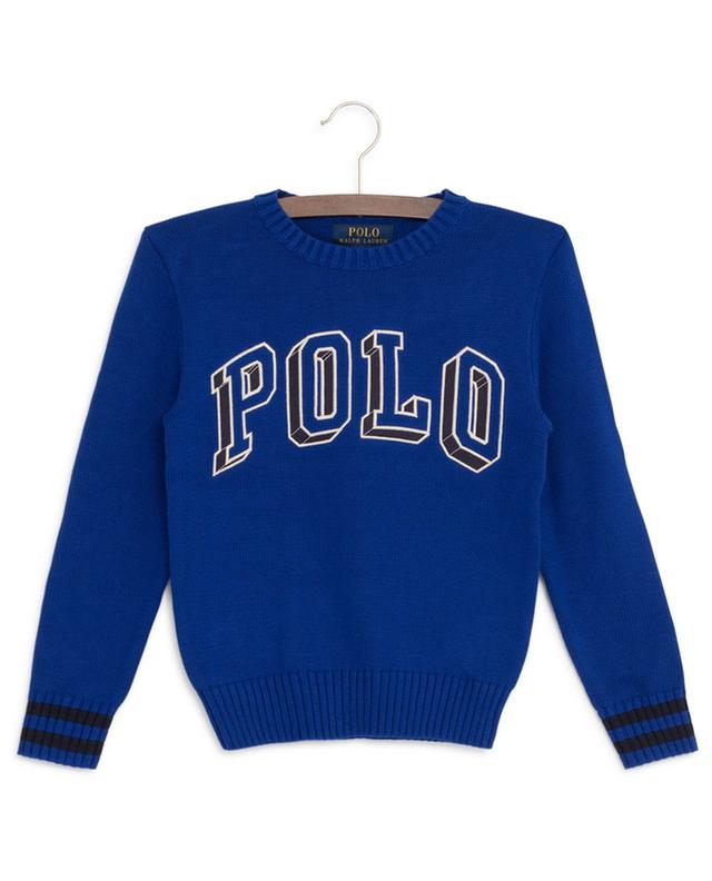 3D Polo embroidered cotton jumper POLO RALPH LAUREN