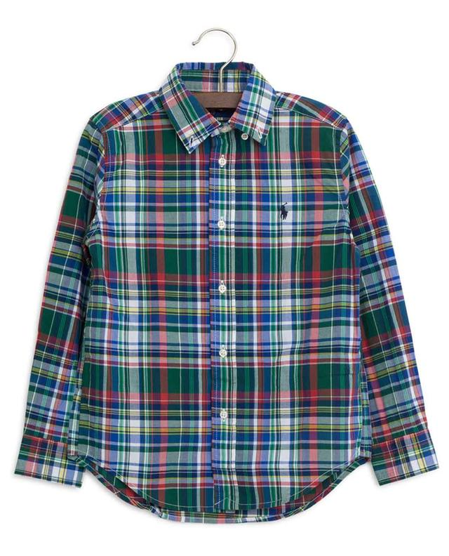 Checked cotton shirt POLO RALPH LAUREN