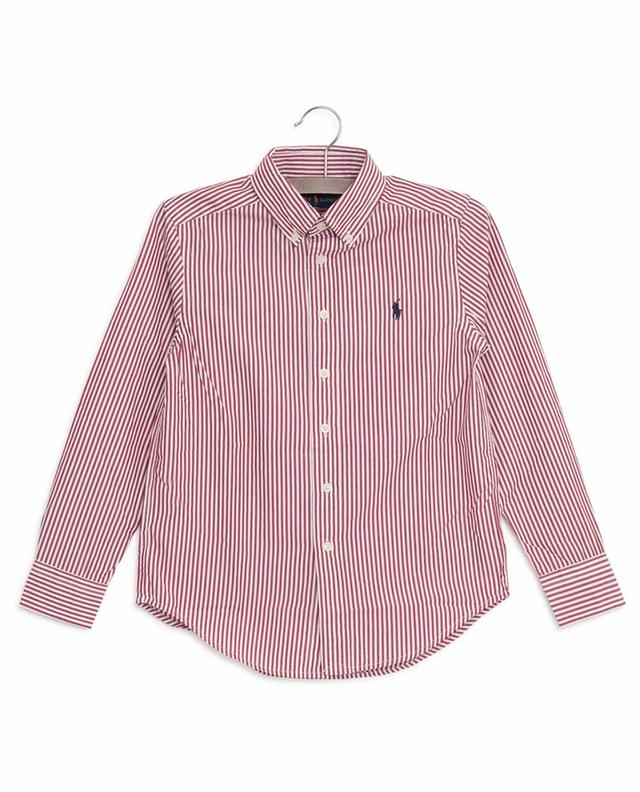 Stripped cotton shirt POLO RALPH LAUREN