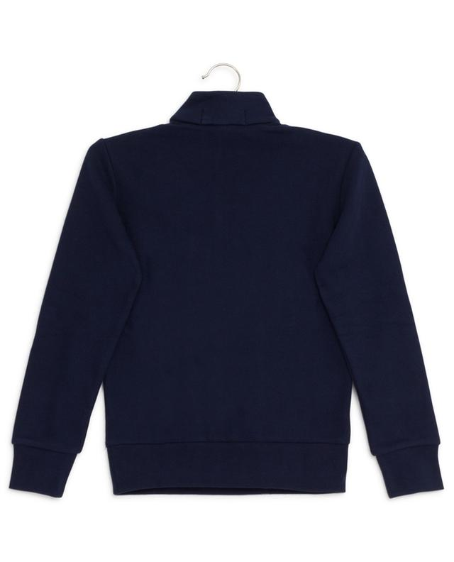 Cotton sweatshirt with zippered stand-up collar POLO RALPH LAUREN