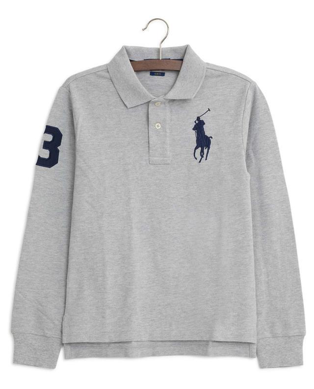 Big Pony piqué cotton polo shirt POLO RALPH LAUREN