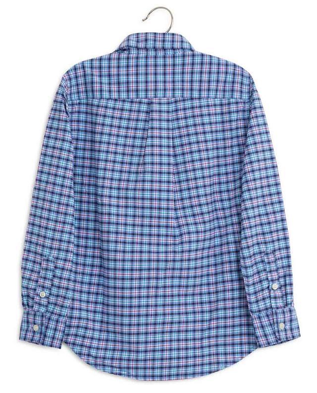 Chemise à carreaux en nylon mélangé POLO RALPH LAUREN