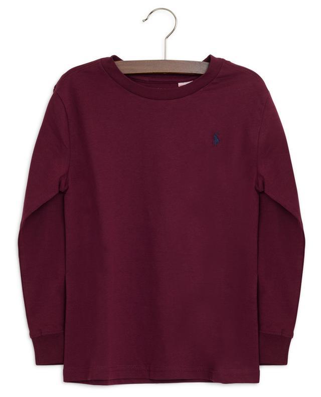 Langarm-T-Shirt aus Baumwolle POLO RALPH LAUREN