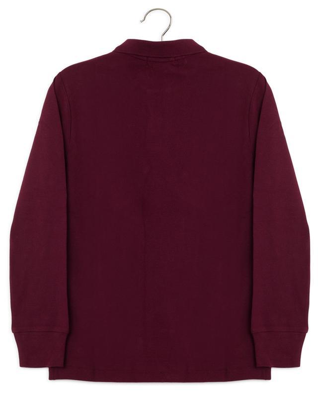 Long sleeved piqué cotton polo shirt POLO RALPH LAUREN