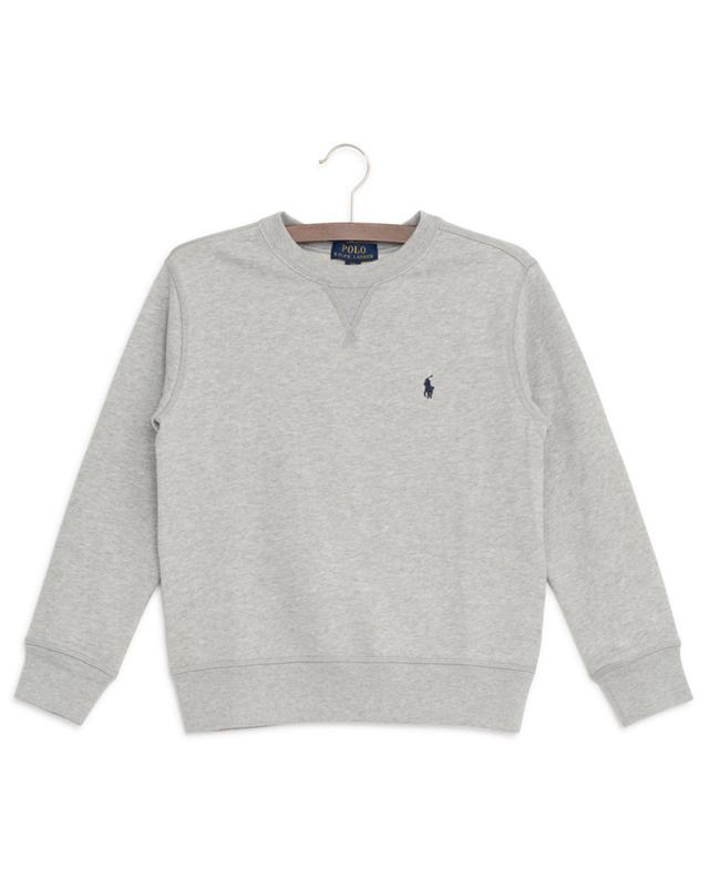Sweat-shirt brodé à col rond Pony POLO RALPH LAUREN