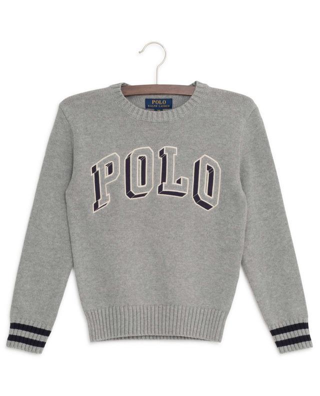 Pull en coton brodé Polo 3D POLO RALPH LAUREN