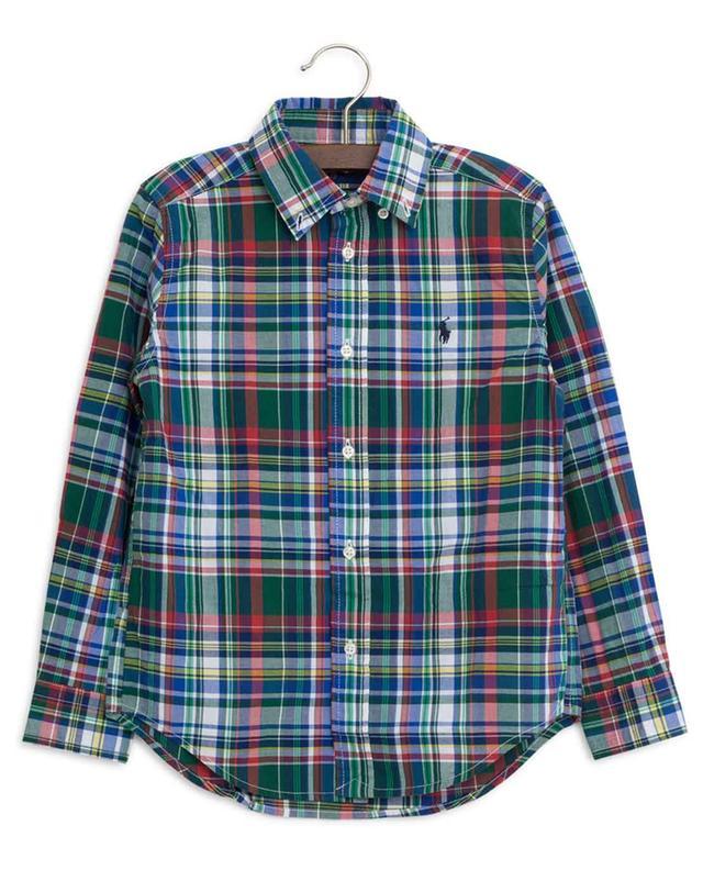 Kariertes Hemd aus Baumwolle POLO RALPH LAUREN