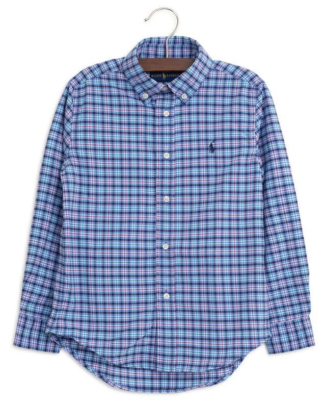 Checked nylon blend shirt POLO RALPH LAUREN