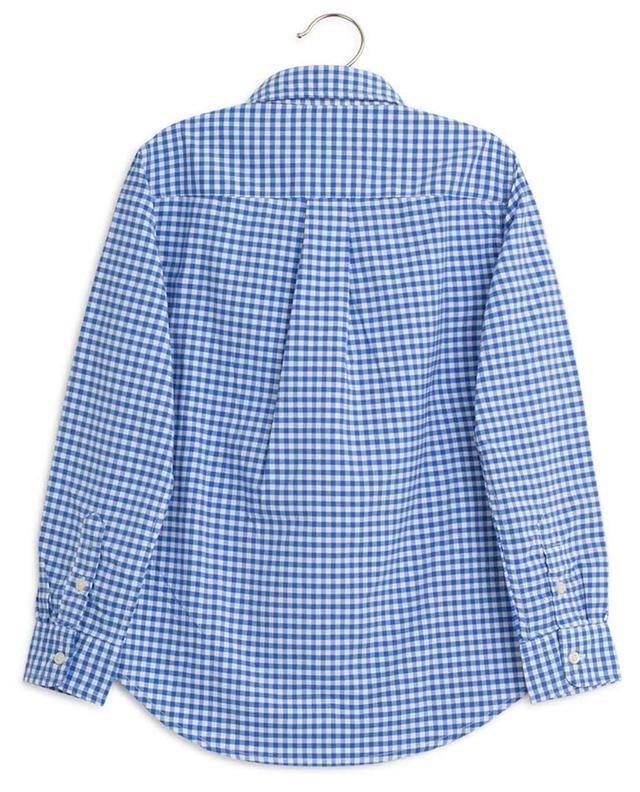 Hemd aus Baumwolle mit Vichykaros POLO RALPH LAUREN