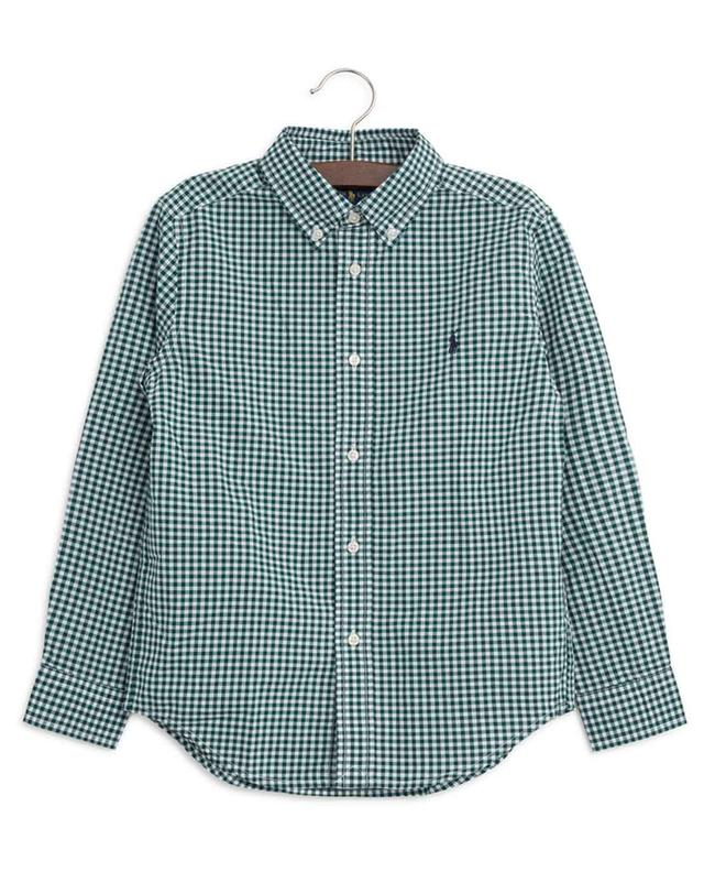Gingham cotton shirt POLO RALPH LAUREN