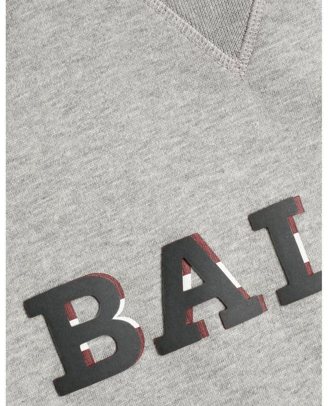 Bally Stripe detail logo print sweatshirt BALLY