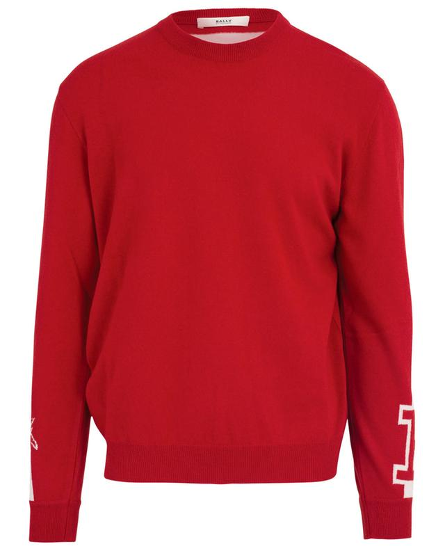 Pull col rond en laine BALLY