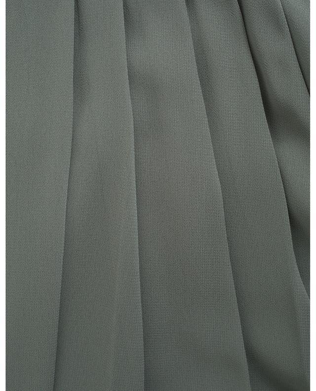 Robe maxi sans manches en mousseline détail plissé FABIANA FILIPPI