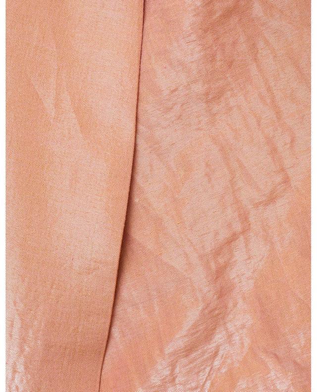 Blazer décontracté en popeline de coton irisée FABIANA FILIPPI