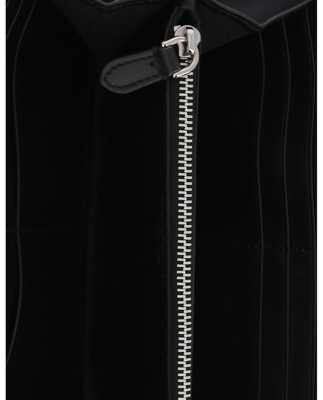 Lange Brieftasche aus Leder mit Reissverschluss Monogram BURBERRY