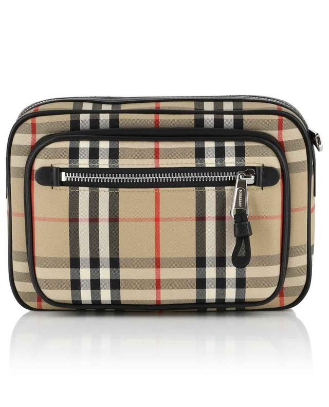 Vintage Check cotton crossbody bag BURBERRY