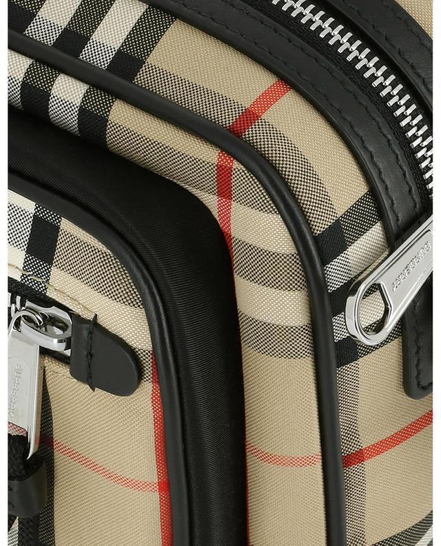 Schultertasche aus Baumwolle Vintage Check BURBERRY