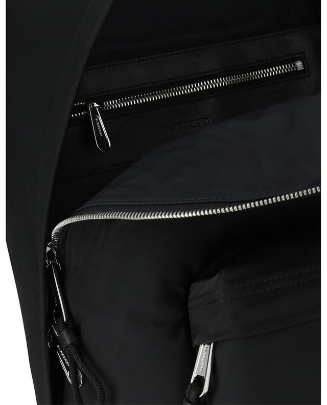 Sac à dos en nylon et cuir imprimé logo Jett BURBERRY