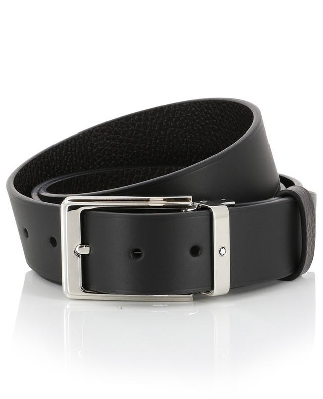Black and brown reversible belt MONTBLANC
