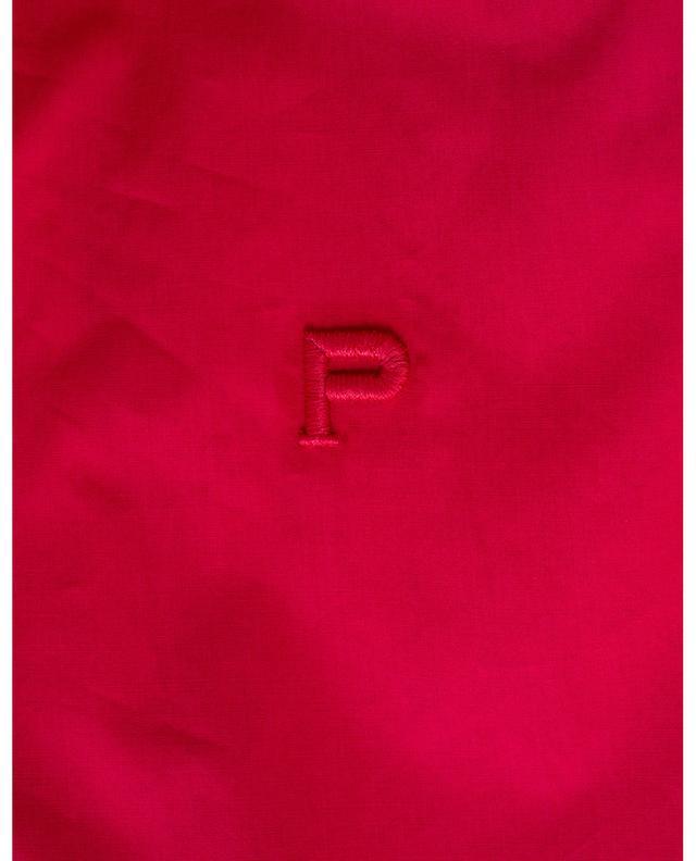 Robe en popeline de coton avec volants et broderies anglaises PHILOSOPHY