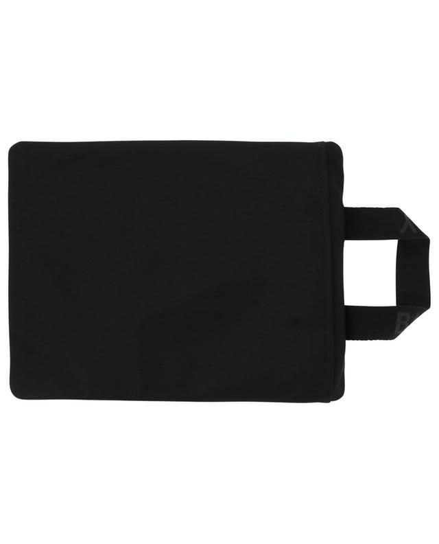 Logo print zippered nylon pouch BURBERRY
