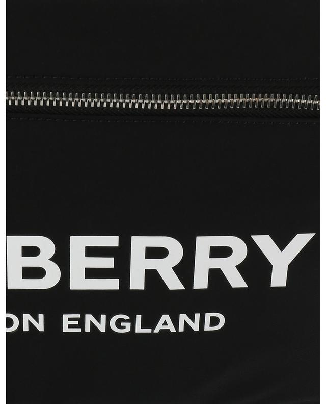 Beutel mit Reissverschluss aus Nylon mit Logoprint BURBERRY