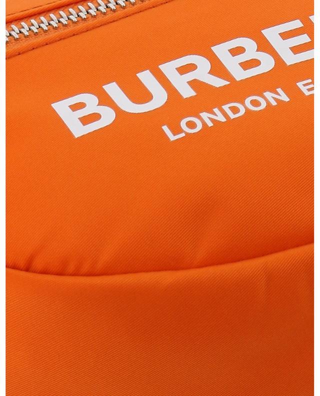 Cannon small nylon belt bag with logo print BURBERRY