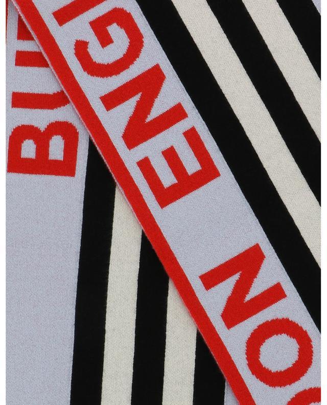 Écharpe rayée Icon Stripe Football Scarf BURBERRY