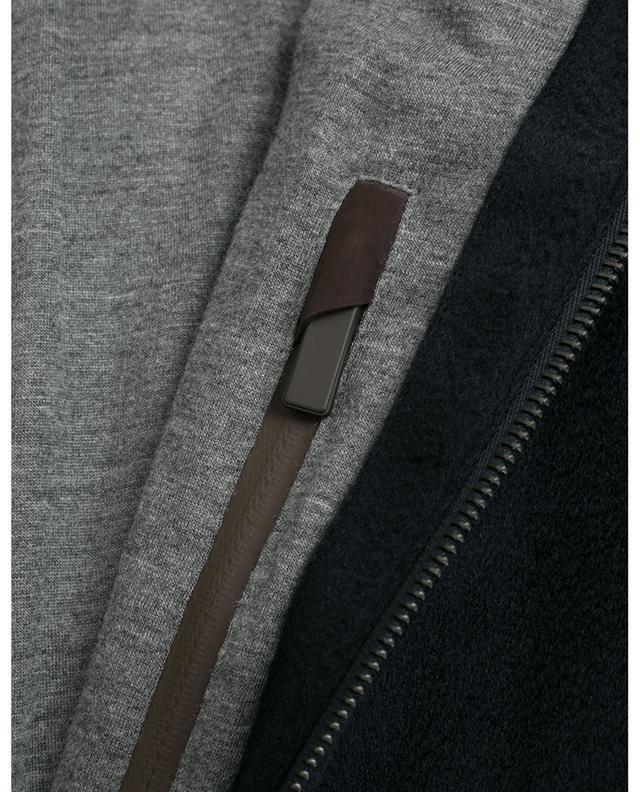 Cashmere bomber jacket ERMENEGILDO ZEGNA