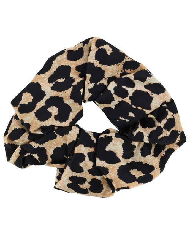 Leopard print elastic hairband GANNI