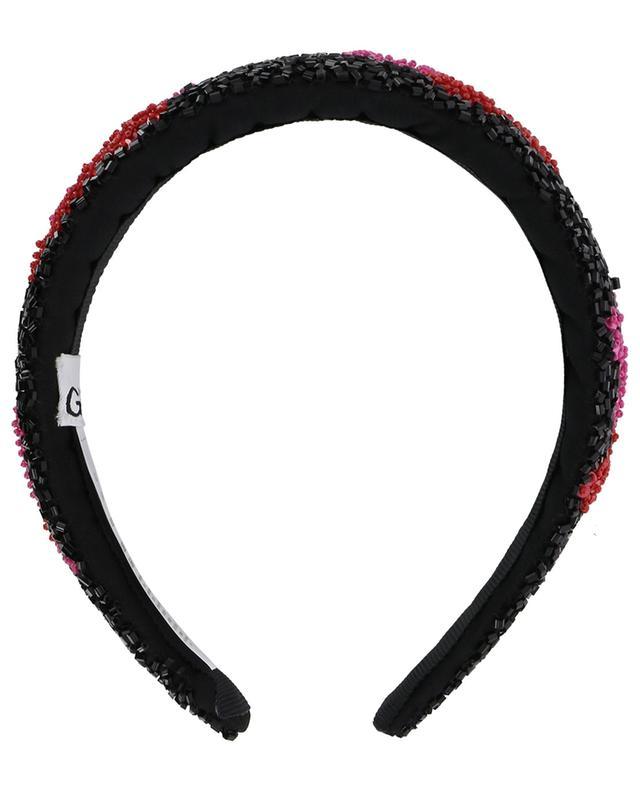 Bead embroidered headband GANNI
