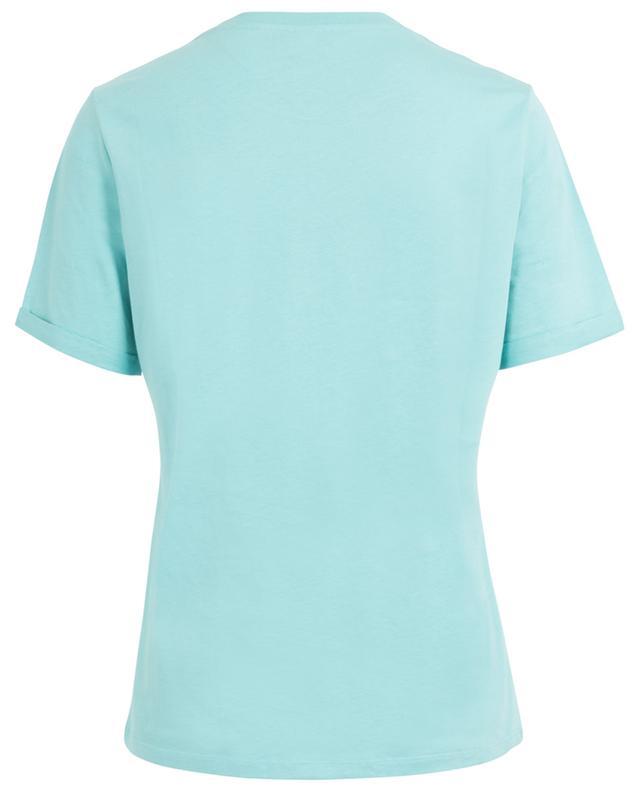 T-shirt en coton imprimé pailletté Tiger KENZO