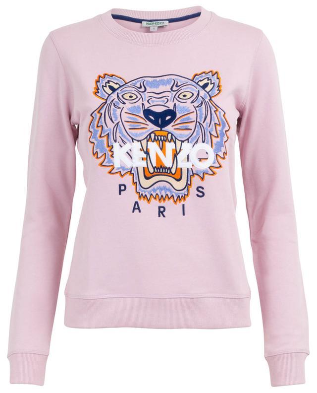 Sweat-shirt en coton avec broderie Classic Tiger KENZO