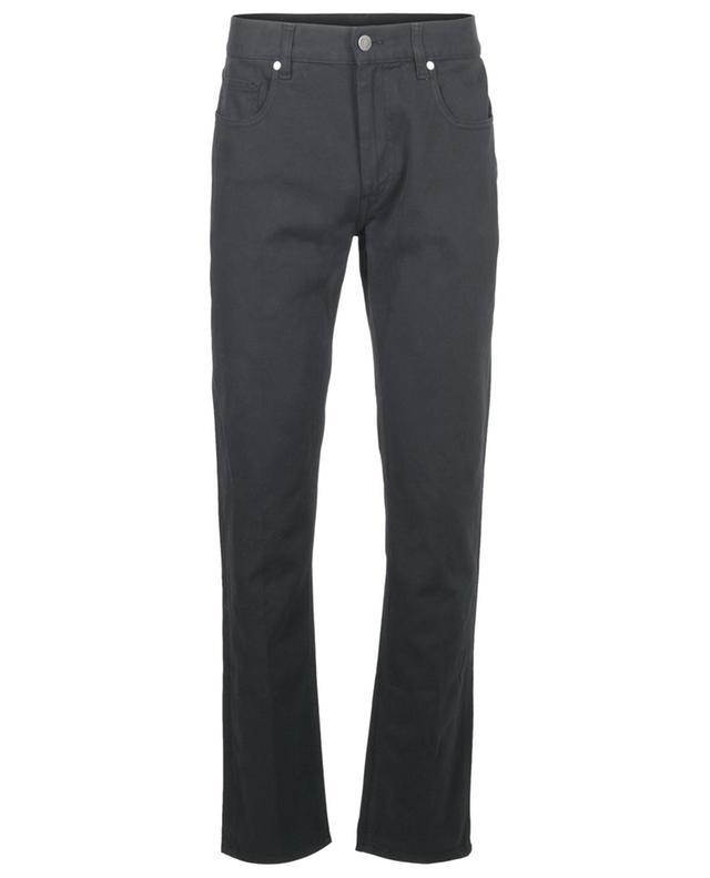 Pantalon à pinces slim en coton mélangé Z ZEGNA