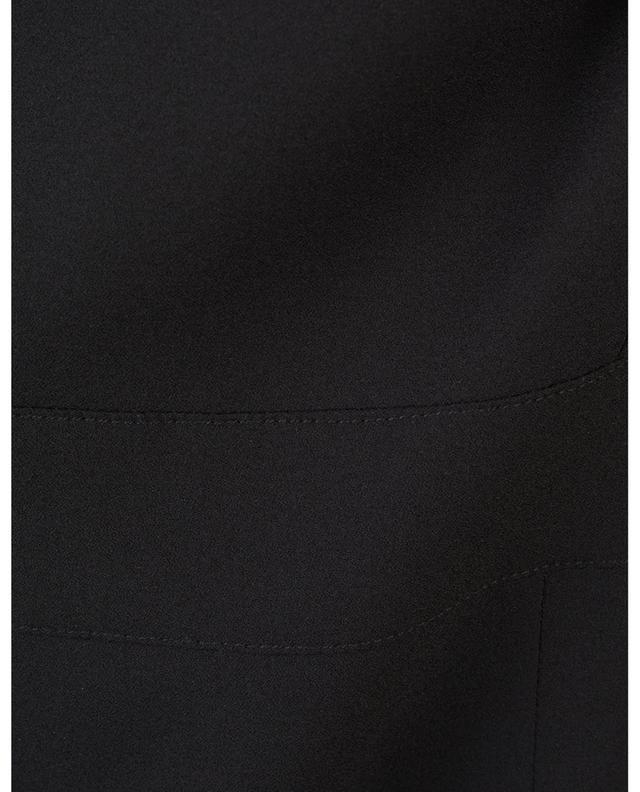 Viscose and silk sleeveless midi dress DOLCE & GABBANA