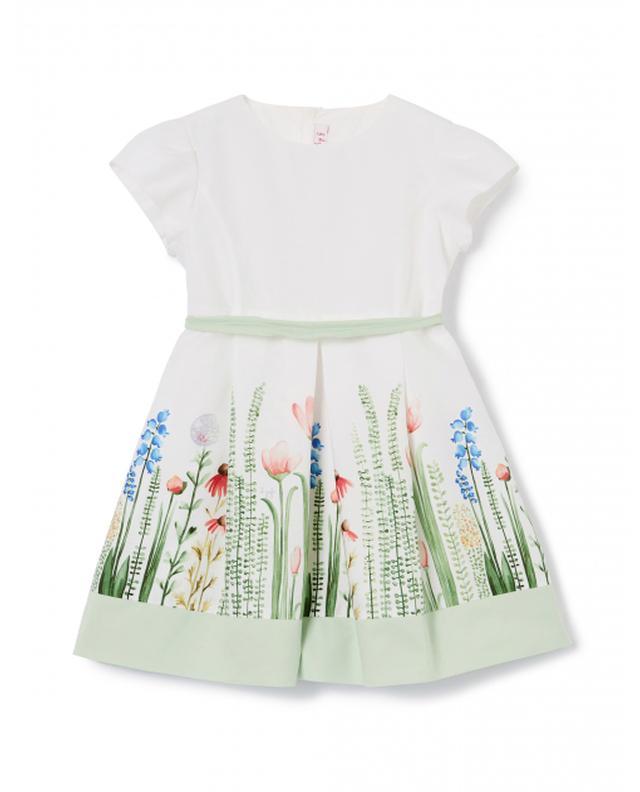 Floral poplin dress IL GUFO