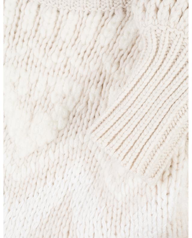 Cashmere and silk blend jumper with openworks BRUNELLO CUCINELLI