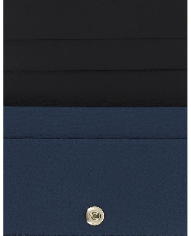 Porte-monnaie en cuir texturé SMYTHSON