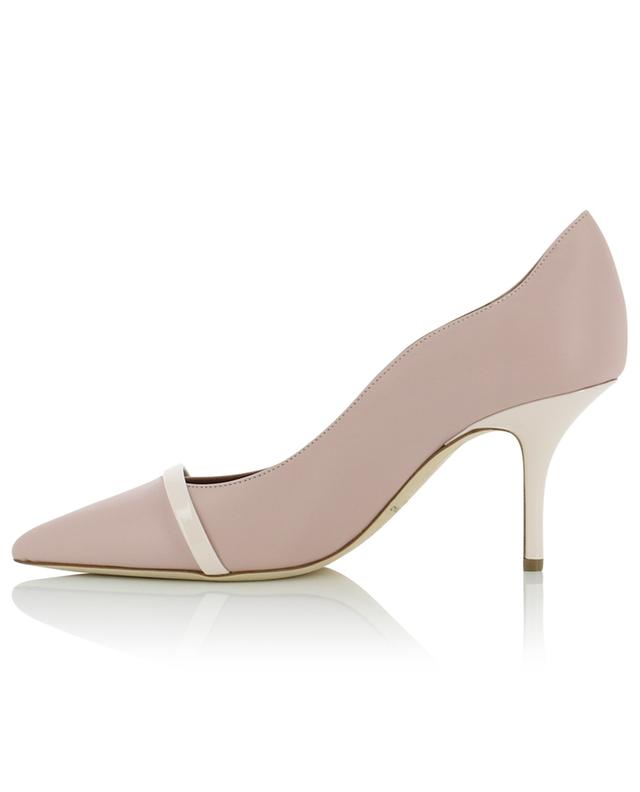 Maybelle 70-B nappa and patent leather pumps MALONE SOULIERS