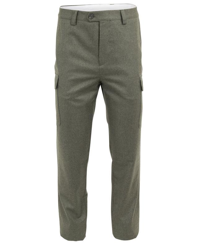 Pantalon droit en laine vierge BRUNELLO CUCINELLI