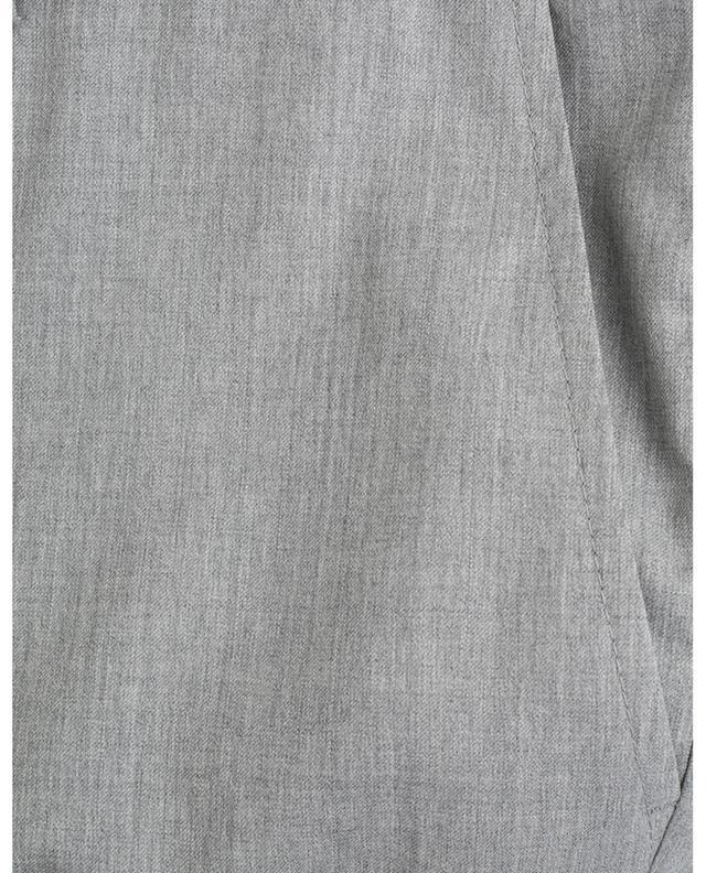 Pleated virgin wool trousers BRUNELLO CUCINELLI