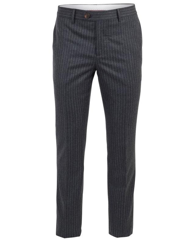 Virgin wool striped trousers BRUNELLO CUCINELLI