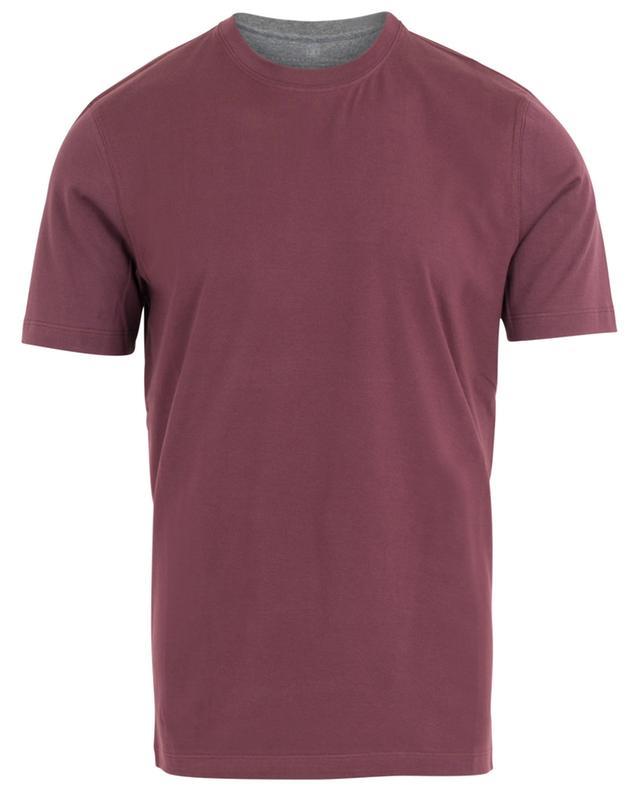 Round collar cotton T-shirt BRUNELLO CUCINELLI