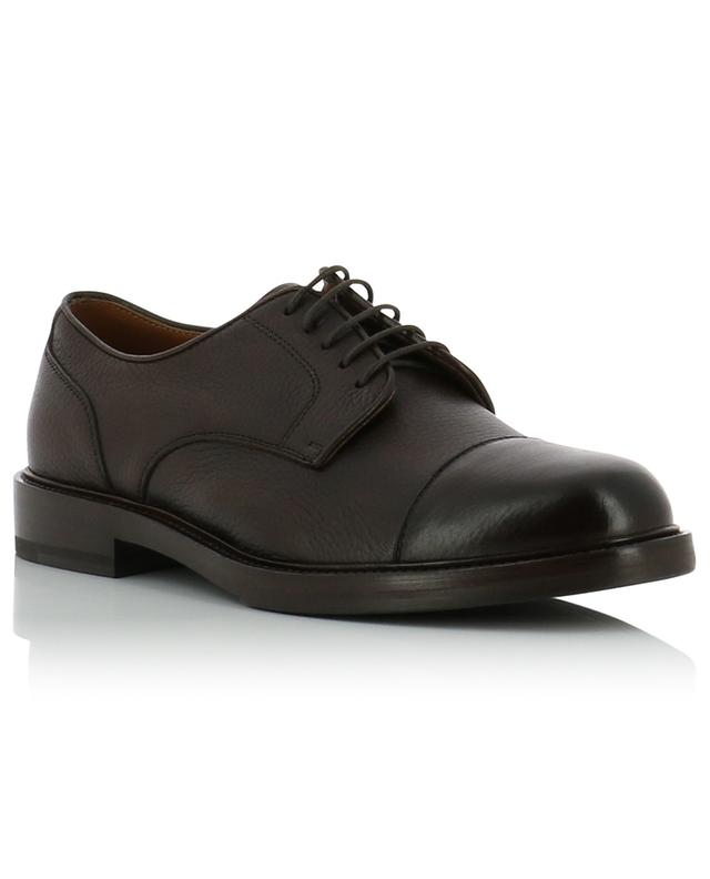 Grained deer leather derby shoes BRUNELLO CUCINELLI