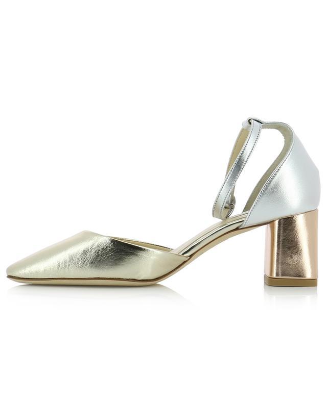 Naiade metallic leather sandals REPETTO