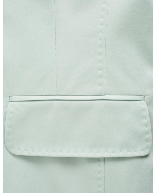 Blazer à boutonnière simple en coton mélangé WINDSOR