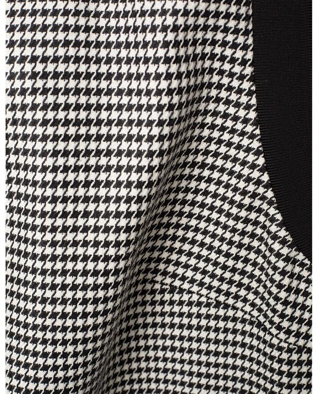 Houndstooth print sleeveless dress BARBARA BUI