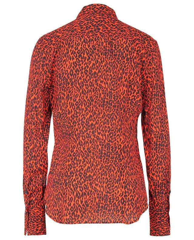 Chemise en viscose imprimée léopard BARBARA BUI
