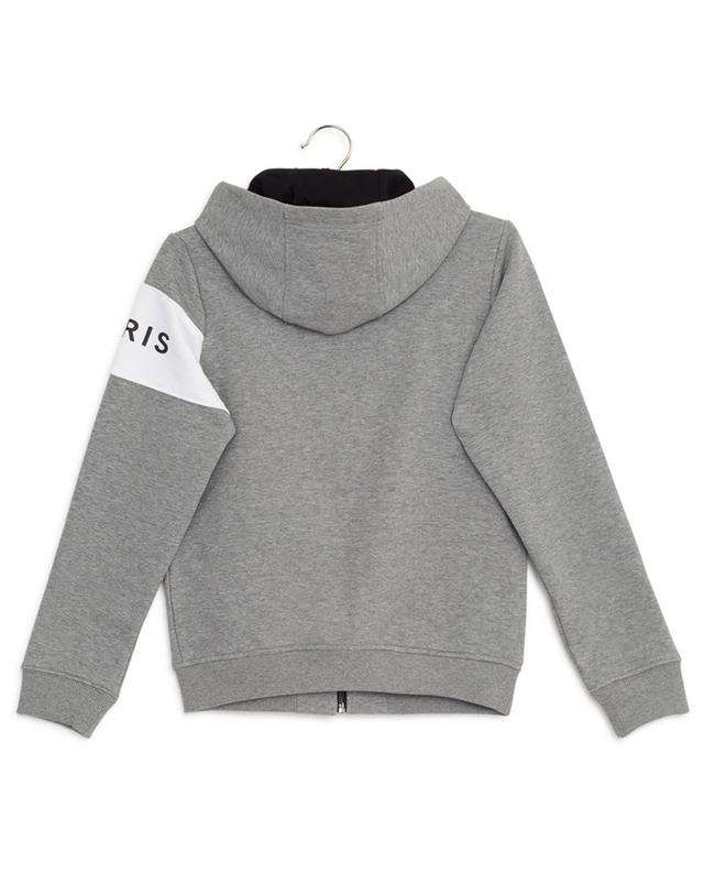 Logo Stripe hooded zippered sweat jacket GIVENCHY